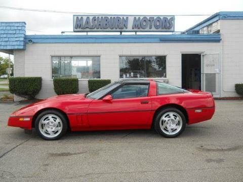 1990 Chevrolet Corvette for sale at Mashburn Motors in Saint Clair MI