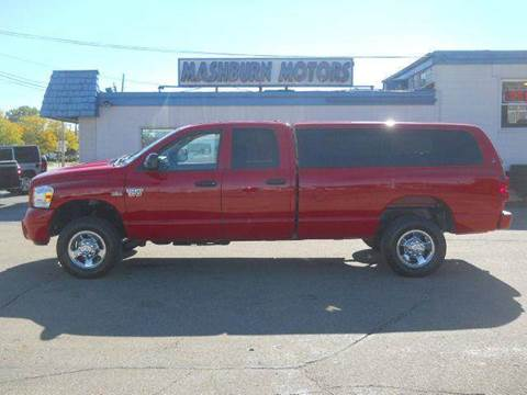 2009 Dodge Ram Pickup 2500 for sale at Mashburn Motors in Saint Clair MI