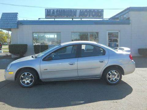 2005 Dodge Neon for sale at Mashburn Motors in Saint Clair MI