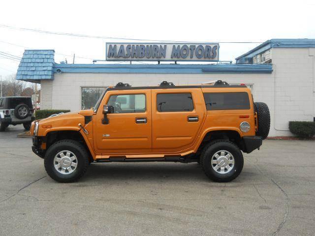 2006 HUMMER H2 for sale at Mashburn Motors in Saint Clair MI