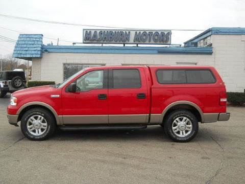 2004 Ford F-150 for sale at Mashburn Motors in Saint Clair MI