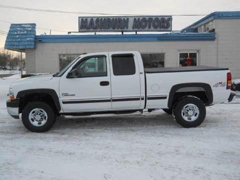 2001 Chevrolet Silverado 2500 for sale at Mashburn Motors in Saint Clair MI