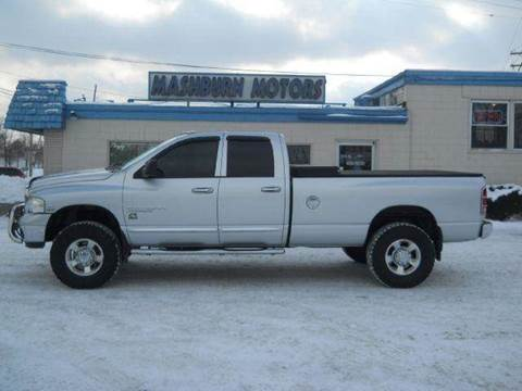 2004 Dodge Ram Pickup 3500 for sale at Mashburn Motors in Saint Clair MI