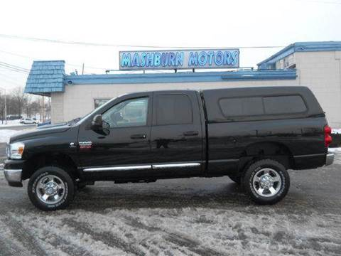 2008 Dodge Ram Pickup 2500 for sale at Mashburn Motors in Saint Clair MI