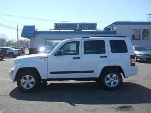 2010 Jeep Liberty for sale at Mashburn Motors in Saint Clair MI