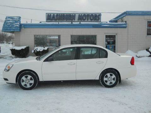 2005 Chevrolet Malibu for sale at Mashburn Motors in Saint Clair MI