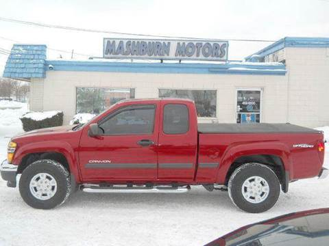 2005 GMC Canyon for sale at Mashburn Motors in Saint Clair MI