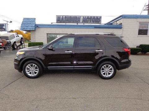 2013 Ford Explorer for sale at Mashburn Motors in Saint Clair MI