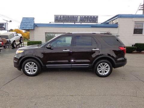 2013 Ford Explorer for sale at Mashburn Motors in Saint Clair MI
