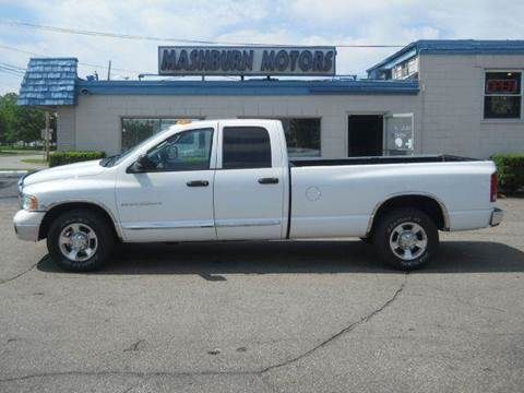 2005 Dodge Ram Pickup 2500 for sale at Mashburn Motors in Saint Clair MI