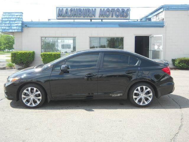 2012 Honda Civic for sale at Mashburn Motors in Saint Clair MI