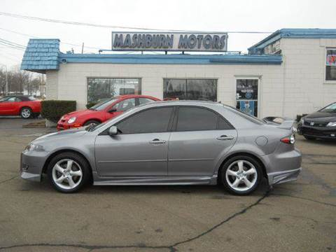 2007 Mazda MAZDA6 for sale at Mashburn Motors in Saint Clair MI
