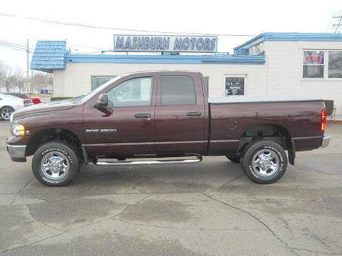 2004 Dodge Ram Pickup 2500 for sale at Mashburn Motors in Saint Clair MI