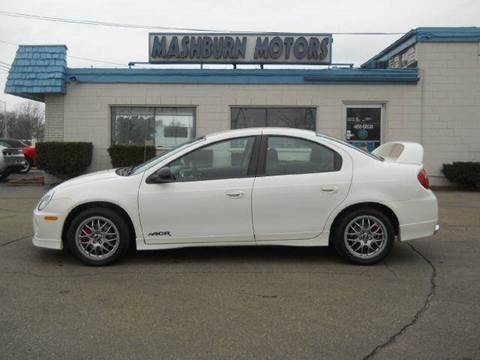 2005 Dodge Neon SRT-4 for sale at Mashburn Motors in Saint Clair MI