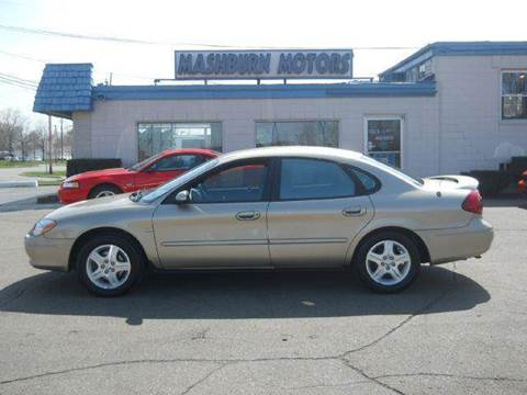 2001 Ford Taurus for sale at Mashburn Motors in Saint Clair MI