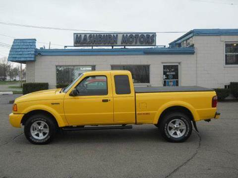 2002 Ford Ranger for sale at Mashburn Motors in Saint Clair MI