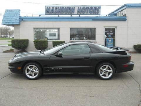 2000 Pontiac Firebird for sale at Mashburn Motors in Saint Clair MI