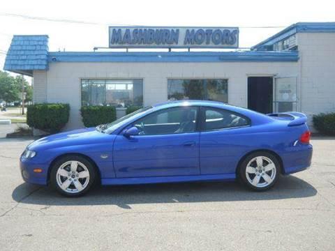 2004 Pontiac GTO for sale at Mashburn Motors in Saint Clair MI