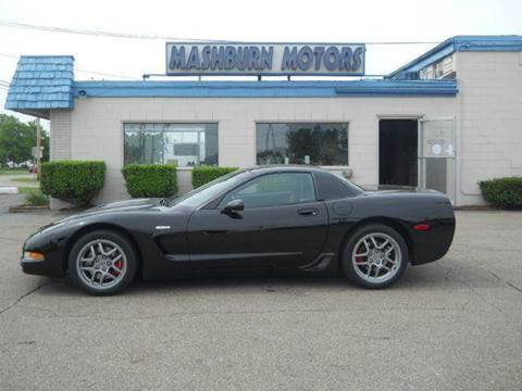 2002 Chevrolet Corvette for sale at Mashburn Motors in Saint Clair MI