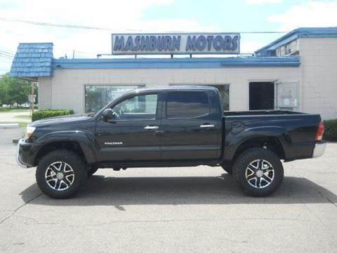 2005 Toyota Tacoma for sale at Mashburn Motors in Saint Clair MI