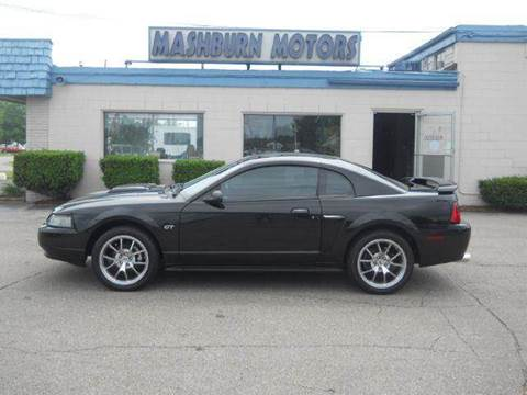 2001 Ford Mustang for sale at Mashburn Motors in Saint Clair MI