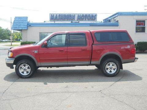 2003 Ford F-150 for sale at Mashburn Motors in Saint Clair MI