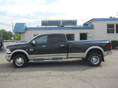 2010 Dodge Ram Pickup 3500 for sale at Mashburn Motors in Saint Clair MI