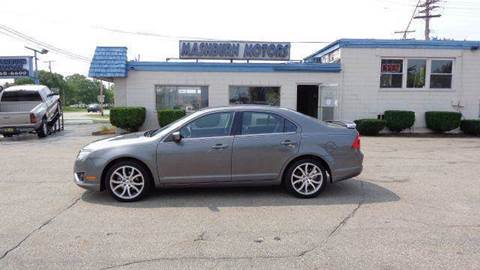 2010 Ford Fusion for sale at Mashburn Motors in Saint Clair MI