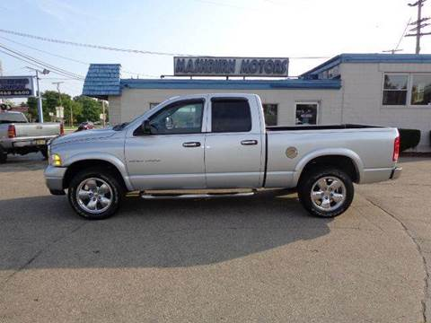 2003 Dodge Ram Pickup 1500 for sale at Mashburn Motors in Saint Clair MI