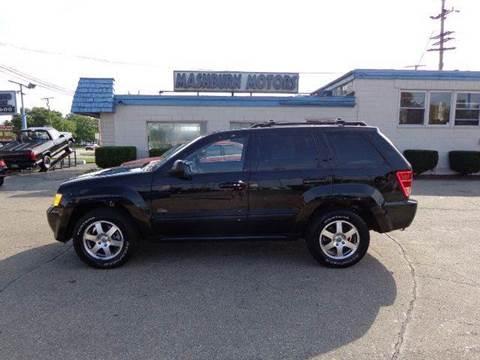 2008 Jeep Grand Cherokee for sale at Mashburn Motors in Saint Clair MI