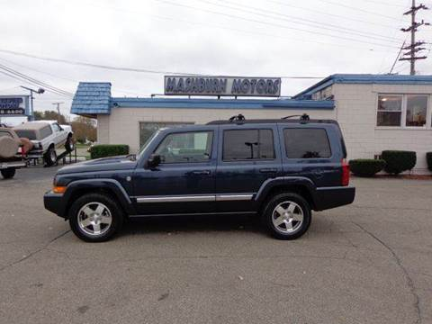 2010 Jeep Commander for sale at Mashburn Motors in Saint Clair MI