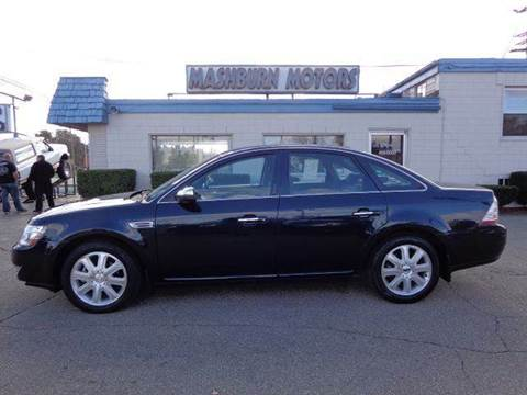 2008 Ford Taurus for sale at Mashburn Motors in Saint Clair MI