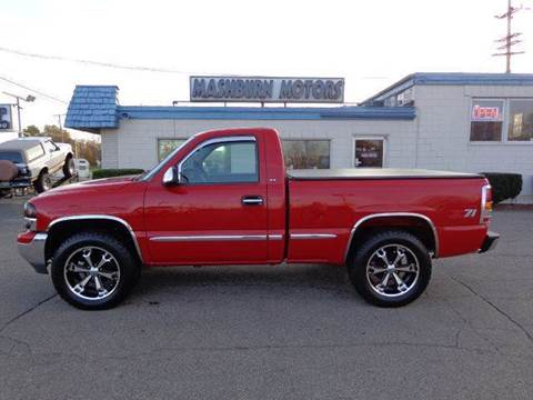 1999 GMC Sierra 1500 for sale at Mashburn Motors in Saint Clair MI