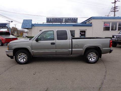 2006 Chevrolet Silverado 1500 for sale at Mashburn Motors in Saint Clair MI