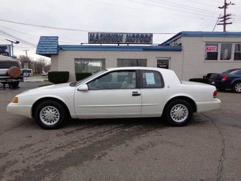 1994 Mercury Cougar for sale at Mashburn Motors in Saint Clair MI