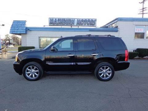 2012 GMC Yukon for sale at Mashburn Motors in Saint Clair MI
