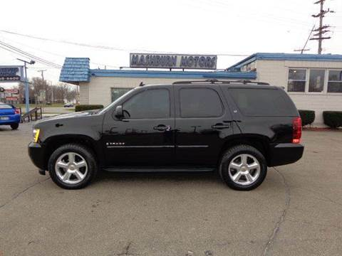 2008 Chevrolet Tahoe for sale at Mashburn Motors in Saint Clair MI