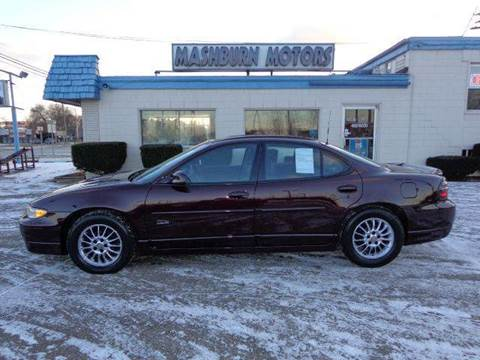 2002 Pontiac Grand Prix for sale at Mashburn Motors in Saint Clair MI