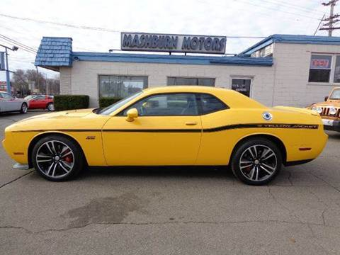 2012 Dodge Challenger for sale at Mashburn Motors in Saint Clair MI