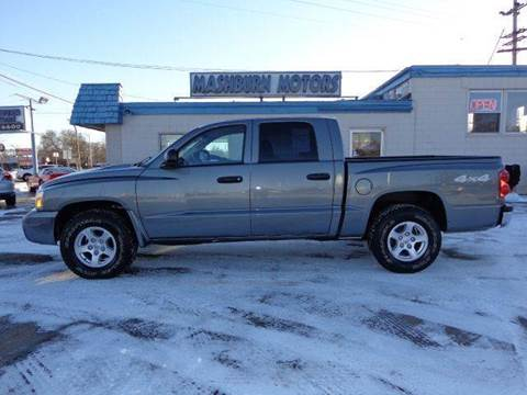 2006 Dodge Dakota for sale at Mashburn Motors in Saint Clair MI