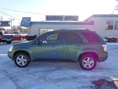 2005 Chevrolet Equinox for sale at Mashburn Motors in Saint Clair MI
