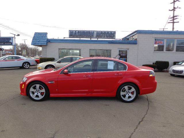 2008 Pontiac G8 for sale at Mashburn Motors in Saint Clair MI