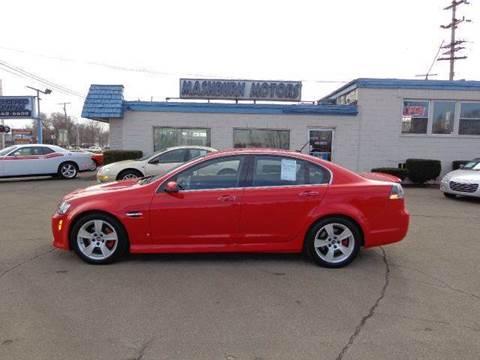 2008 Pontiac G8 for sale at Mashburn Motors in Saint Clair MI