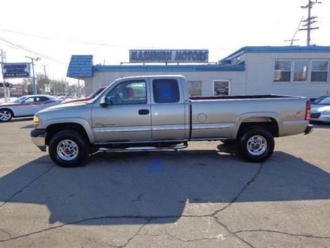 2002 GMC Sierra 2500HD for sale at Mashburn Motors in Saint Clair MI