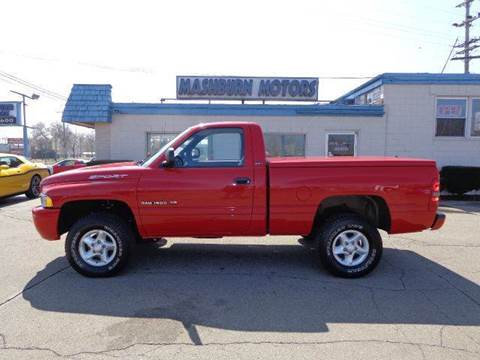 2001 Dodge Ram Pickup 1500 for sale at Mashburn Motors in Saint Clair MI