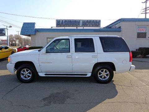 2000 Cadillac Escalade for sale at Mashburn Motors in Saint Clair MI