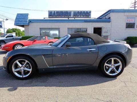 2008 Saturn SKY for sale at Mashburn Motors in Saint Clair MI