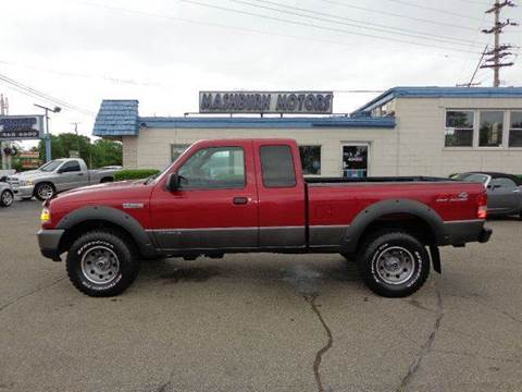 2007 Ford Ranger for sale at Mashburn Motors in Saint Clair MI