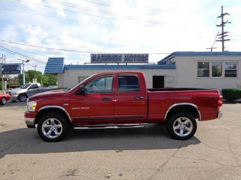 2007 Dodge Ram Pickup 1500 for sale at Mashburn Motors in Saint Clair MI