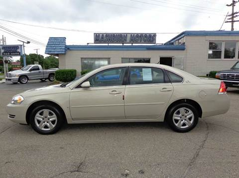 2008 Chevrolet Impala for sale at Mashburn Motors in Saint Clair MI